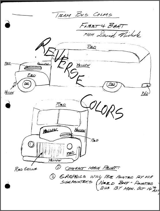 School Bus Notes 1