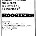 Invitation to Screening