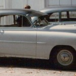 Two identical 1951 Chevrolet Styleline Deluxe coupes were used as Coach Dale's car.